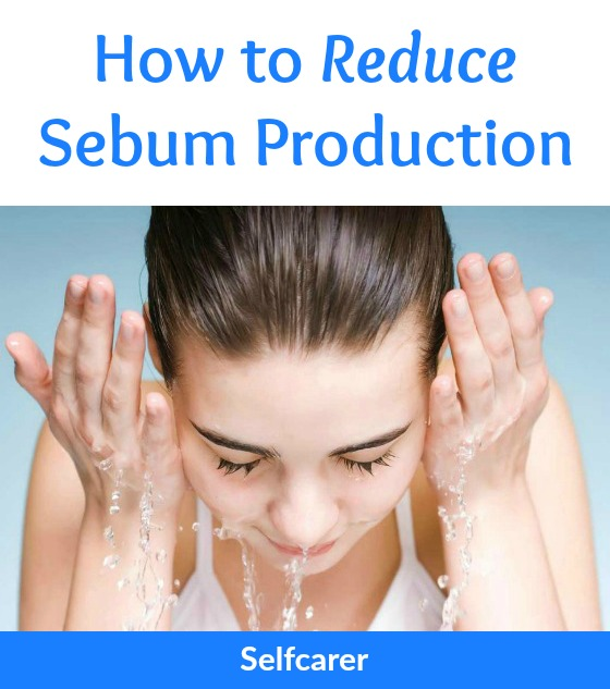 Too much sebum and dead skin cells can result in pimples, whiteheads, blackheads and other lesions. You can't stop the sebum production completely, but you can reduce the amount secreted.