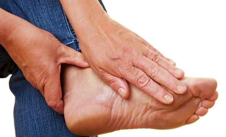 Как лечить воспаление нервов на пальцах ног