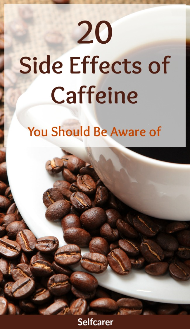 Small amounts of caffeine can be beneficial for the short-term relief of fatigue or drowsiness, but there can be also some adverse side effects.