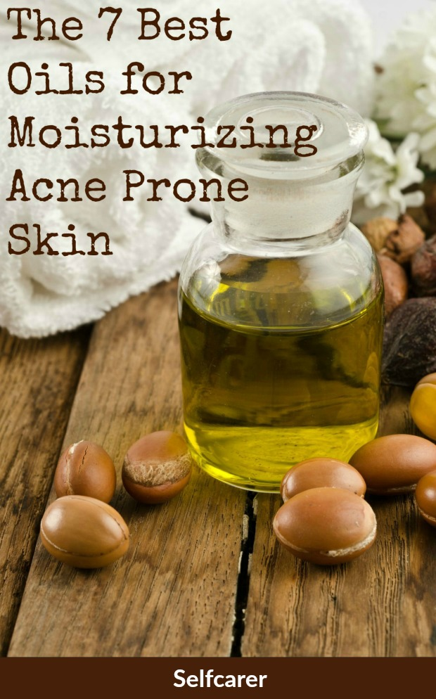 If you have acne, especially if you have the kind of acne that causes tiny red pimples on your forehead cheeks, and nose, you may see great improvement on your skin when you begin to use moisturizers.